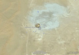 Door to Hell Crater on Google Earth