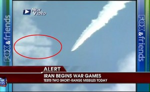 UFO seen during Iranian Missile Test